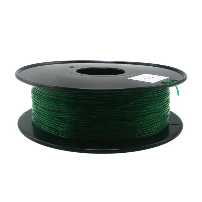 透明翠綠色TPU 3D打印耗材