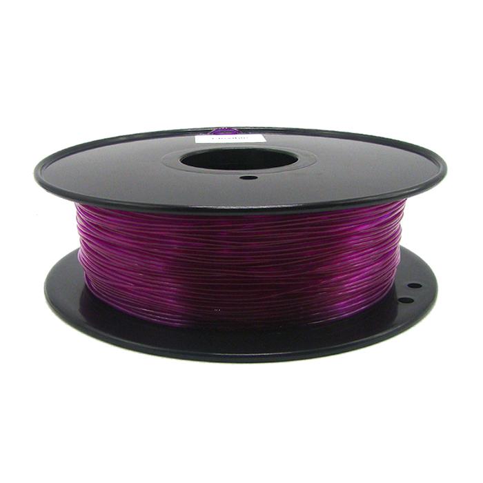 透明紫色TPU 3D打印耗材