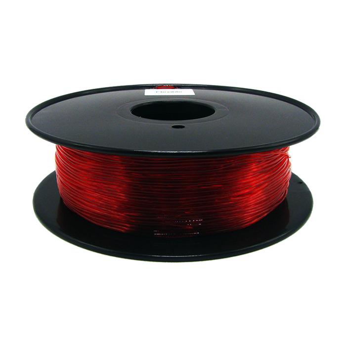 透明紅色TPU 3D打印耗材