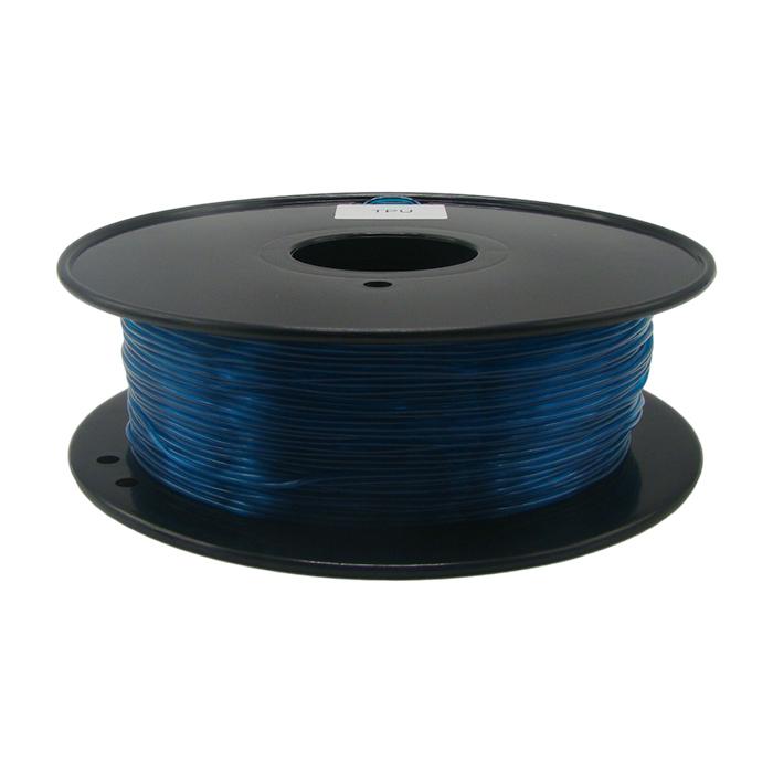 透明藍綠色TPU 3D打印耗材