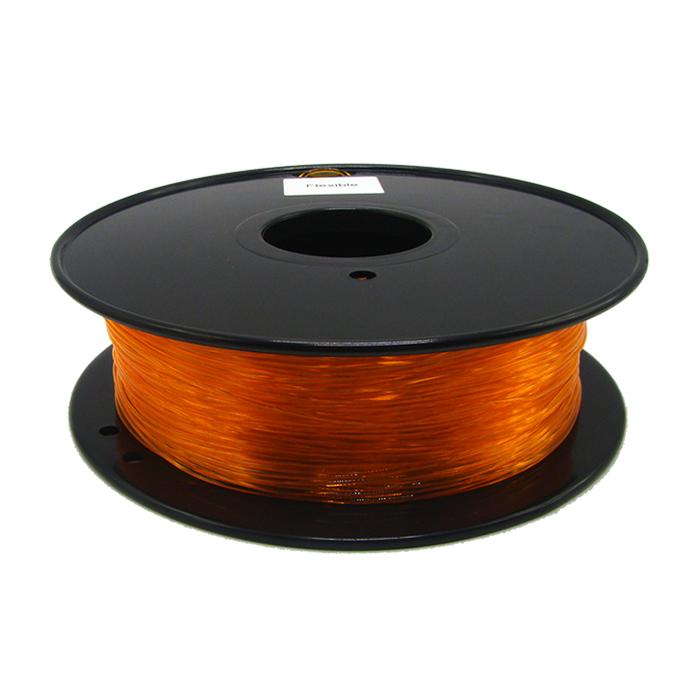 透明橙TPU 3D打印耗材