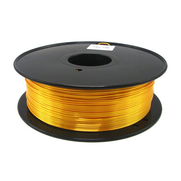 仿絲綢金黃色 3D打印耗材