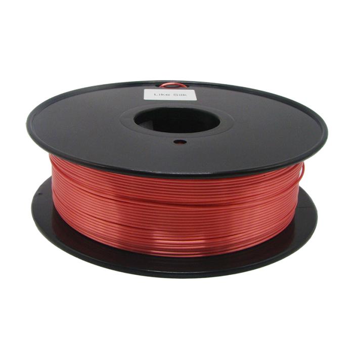 仿絲綢紅色 3D打印耗材