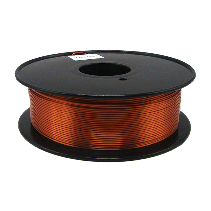 仿絲綢銅色 3D打印耗材