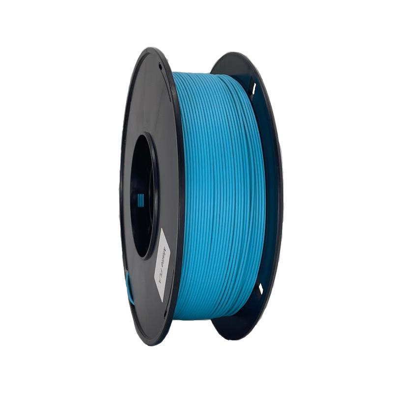 湖藍色啞光3d打印機耗材 消光燈絲線材料 Matte PLA 啞光PLA 3d打印耗材
