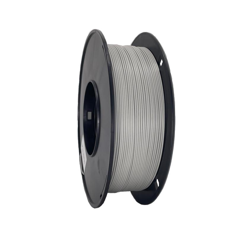 灰色啞光3d打印機耗材 消光燈絲線材料 Matte PLA 啞光PLA 3d打印耗材
