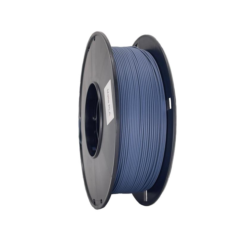 藍色啞光3d打印機耗材 消光燈絲線材料 Matte PLA 啞光PLA 3d打印耗材