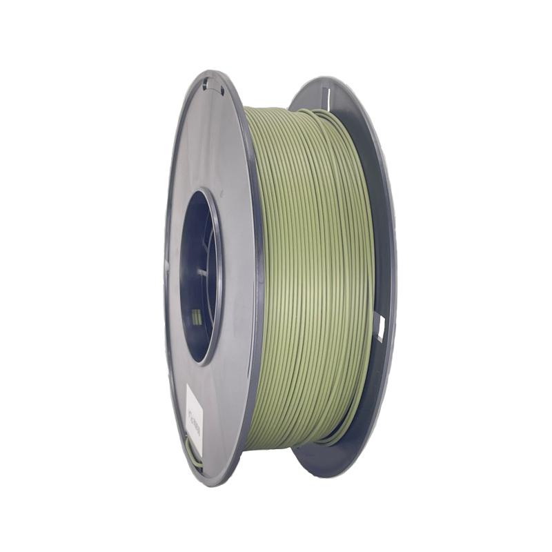 軍綠色啞光3d打印機耗材 消光燈絲線材料 Matte PLA 啞光PLA 3d打印耗材