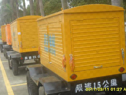 移动拖车引擎