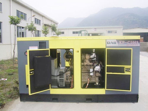 珠三角静音发电机销售
