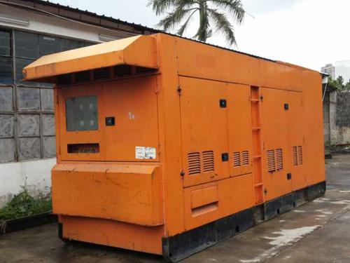 三菱防音型发电机组