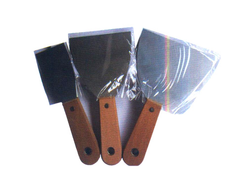 加厚木柄双夹镜面灰刀(1寸-6寸)