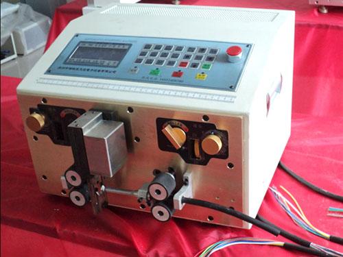 大旺機械_護套線內外一體_氣電式電線剝線機廠家