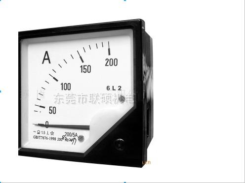 东莞指针式6L2-A/V型电流电压测量仪表|电话:0769-85152489章先生
