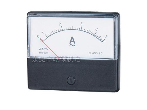 奥仪指针式电流电压表HN-670