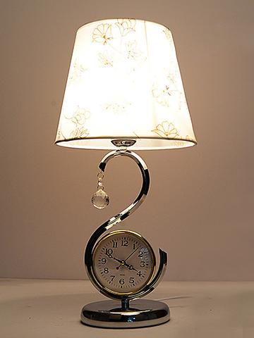 钟表触摸台灯