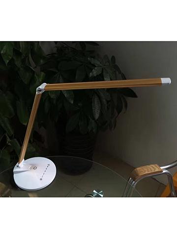 木纹折叠台灯