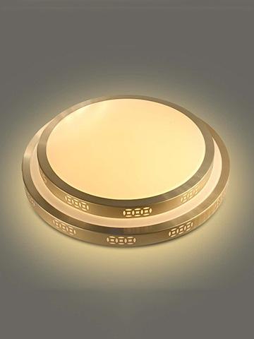 镀金LED吸顶灯