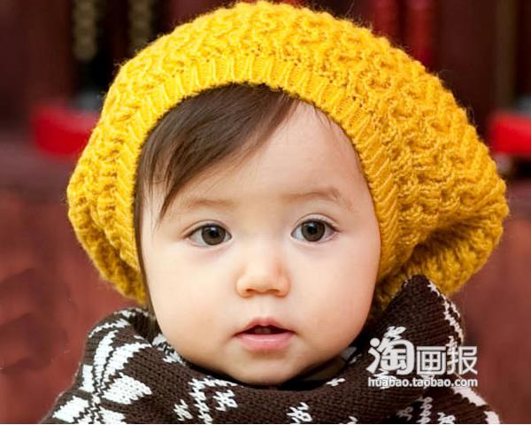 """把宝宝扮成可爱冬日""""小雪人"""""""