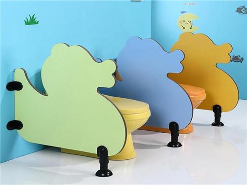 彩色幼兒園隔斷