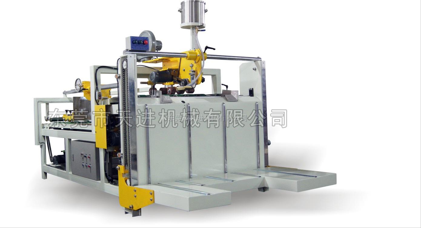 高速半自动纸箱糊箱机 广东半自动粘箱机 广东粘箱机 糊箱机
