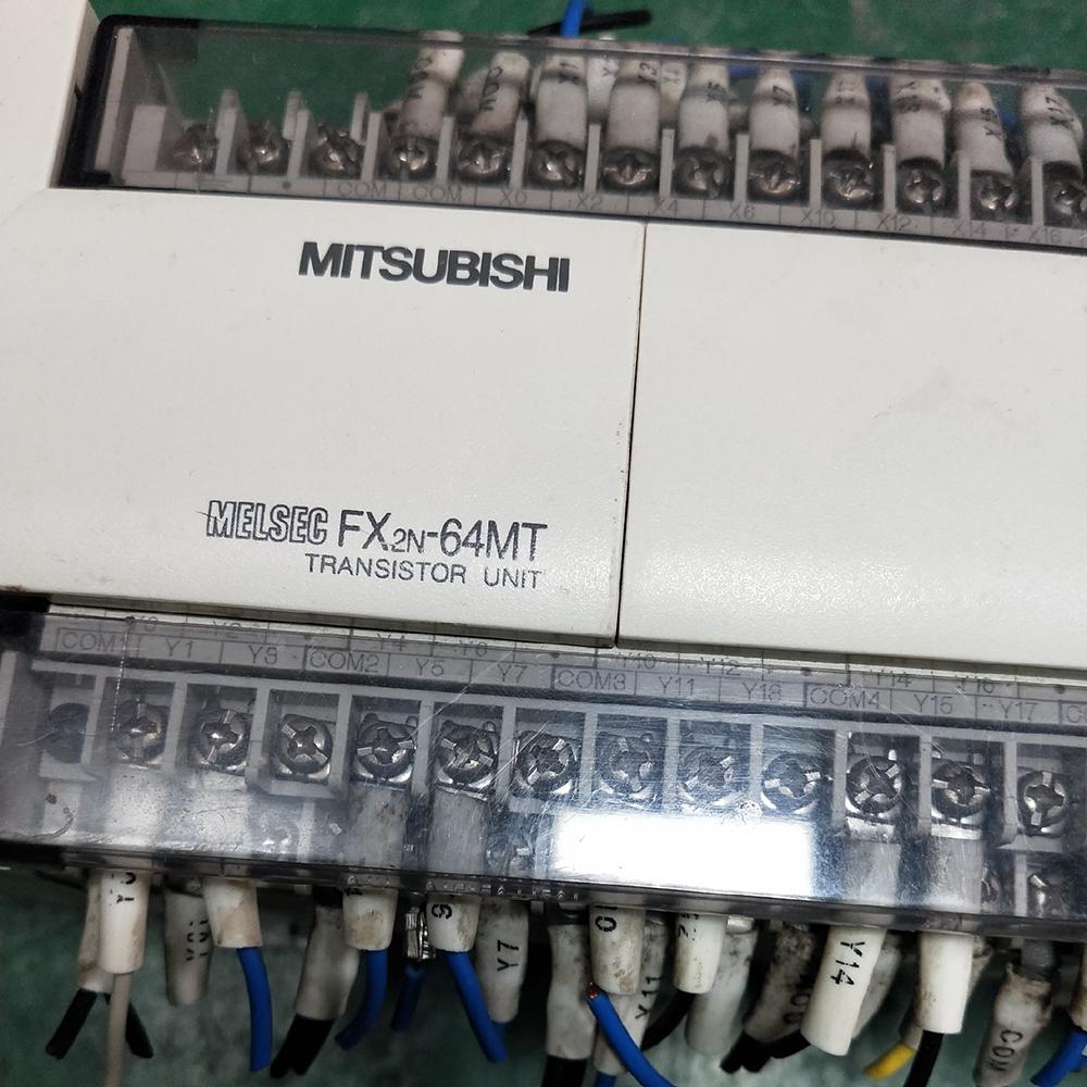 三菱PLC可编程控制器工控板型号FX2N-64MT-001三菱编程系统