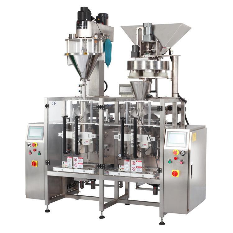 自動計量粉末真空包裝機代理_廣科機械_1公斤_全自動小型_定量