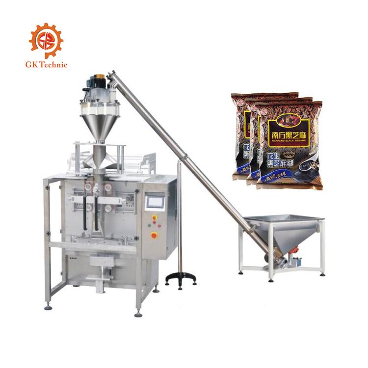 大劑量粉末包裝機研發生產_廣科機械_小袋_咖啡_自動定量_顆粒
