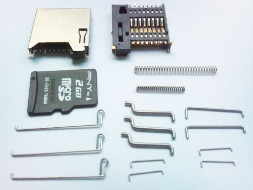各種卡類彈簧導桿