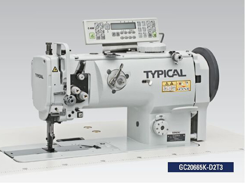 中厚料综合送料自动切线平缝机GC20665K-D2T3