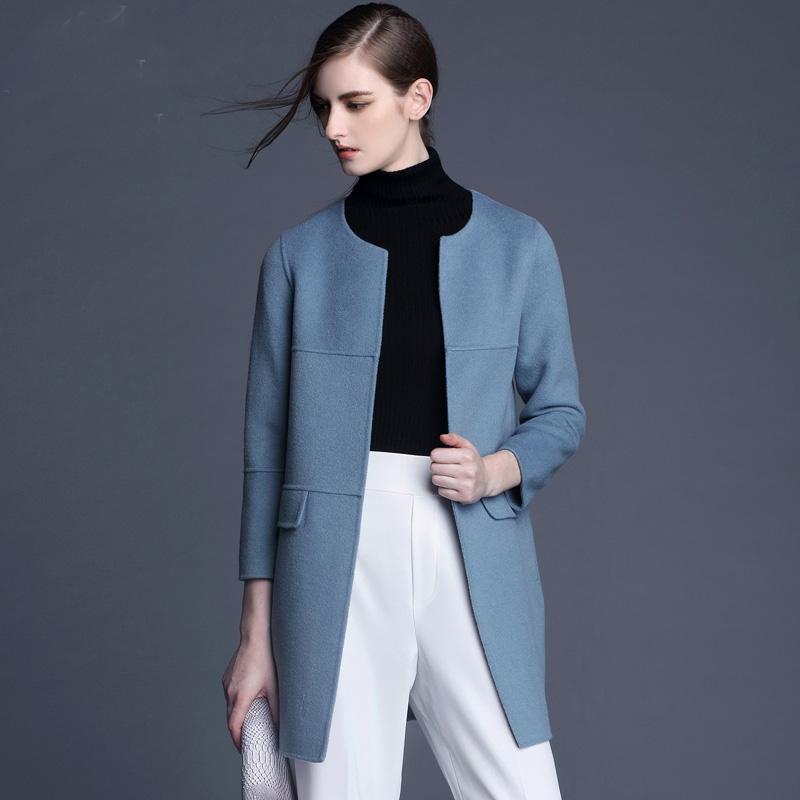 第三波双面羊绒大衣