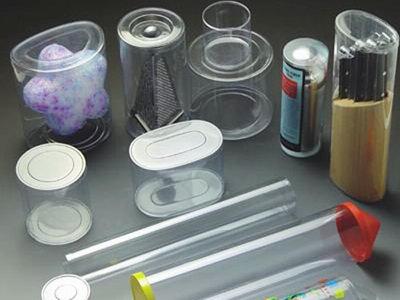 松岗透明圆筒厂家PVC圆筒吸塑圆筒加工