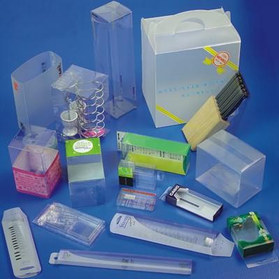 虎门透明胶盒透明折盒PVC胶盒PVC折盒加工厂