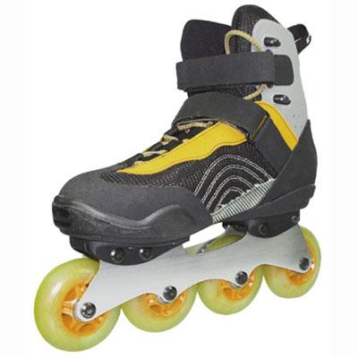 健壮溜冰鞋