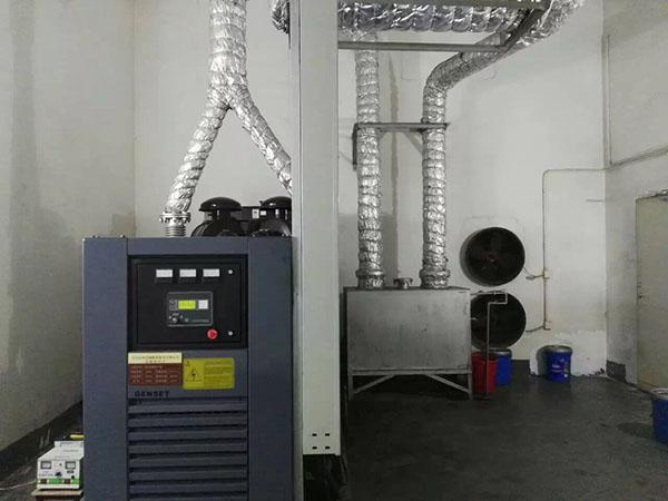发电机消音工程