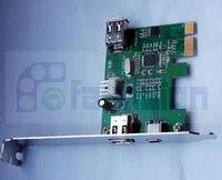 PCIE接口1394a卡