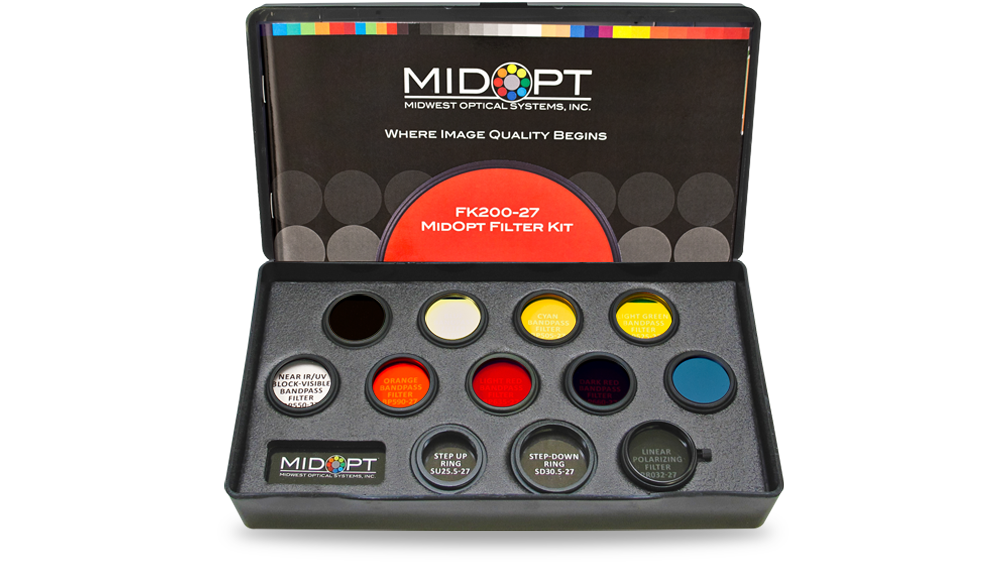 Midopt机器视觉滤光镜实验套盒FK200