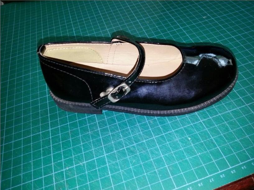 学员做的成品鞋样品