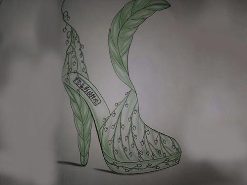 鞋樣設計 鞋技培訓 學員作品