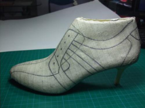 制鞋培訓 女鞋設計 鞋樣設計 鞋培訓 秋鞋在楦設計 鞋培訓