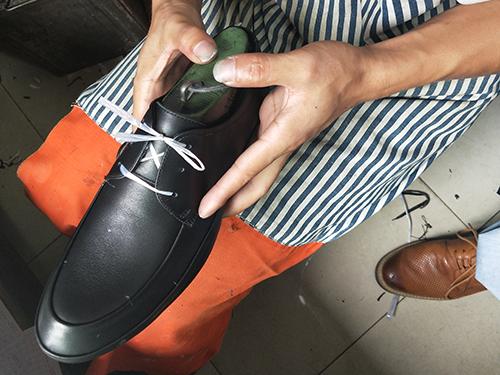 成品鞋制作