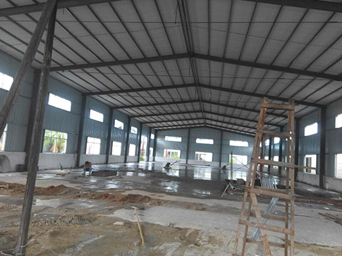 钢结构地面施工