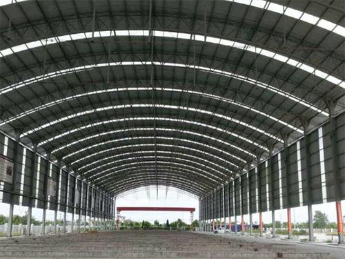 大型鐵皮棚廠房施工