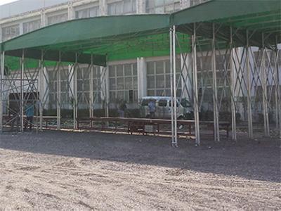 鋼結構雨棚直售