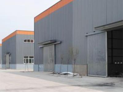 鐵皮棚廠房安裝設計