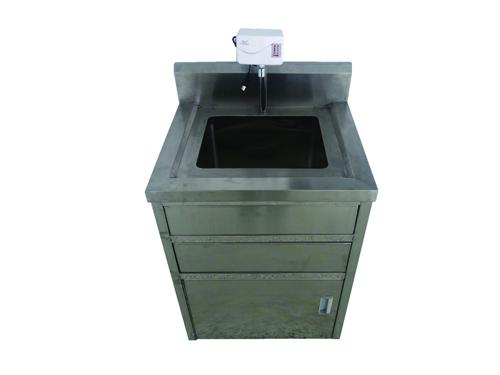 不銹鋼單星洗手盆臺柜