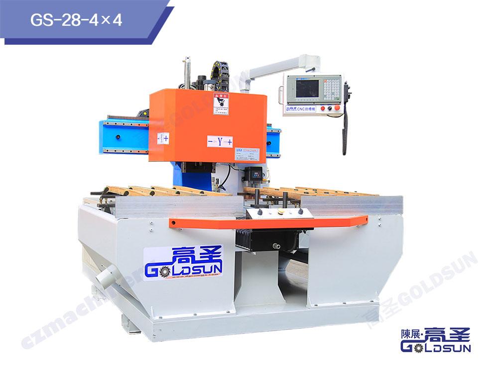 CNC铣槽机4×4轴(竖排款)