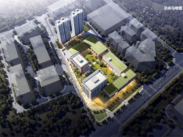 梅州名盾智创产业园-总体鸟瞰图