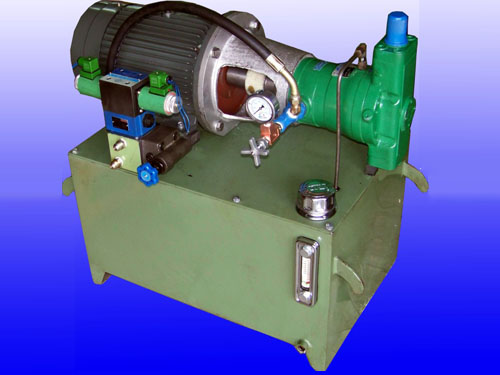 柱塞泵液压站图片