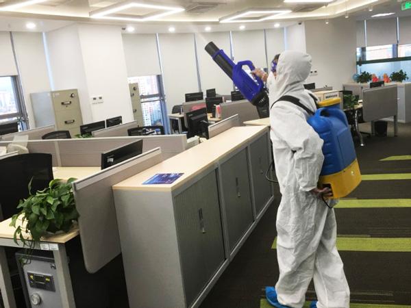 辦公室內消毒